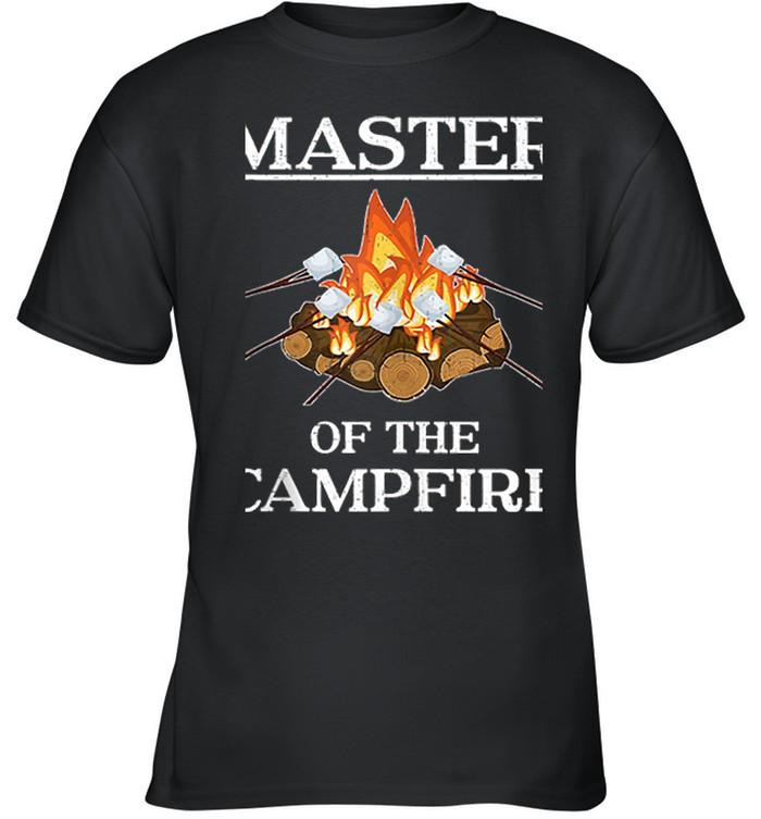 Master of the Campfire Camping shirt 6