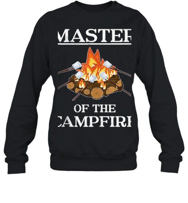 Master of the Campfire Camping shirt