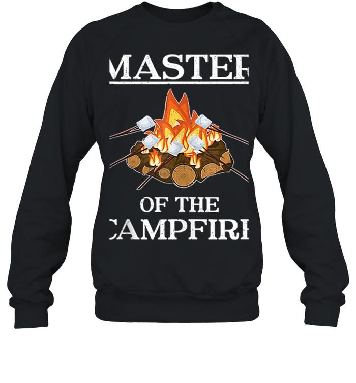 Master of the Campfire Camping shirt 8