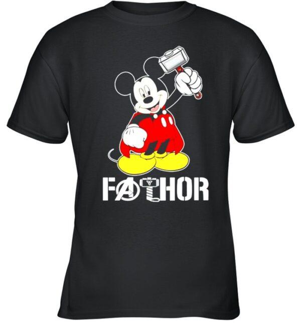 Mickey Thor Fathor shirt