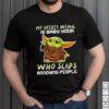 My Stupid Animal Is Baby Yoda Who Slaps Annoying People Shirt