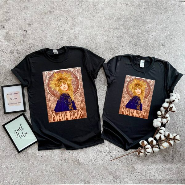 Stevie Arts Nicks Quote Gift Is My Fairy Godmother Vintage Shirt 5