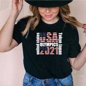 Tokyo Olympics 2021 USA Team Shirt 6