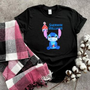 Baby Stitch face mask hug Sherwin Williams shirt