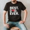 Best Dad Ever Tampa Bay Buccaneers Fathers Day T Shirt
