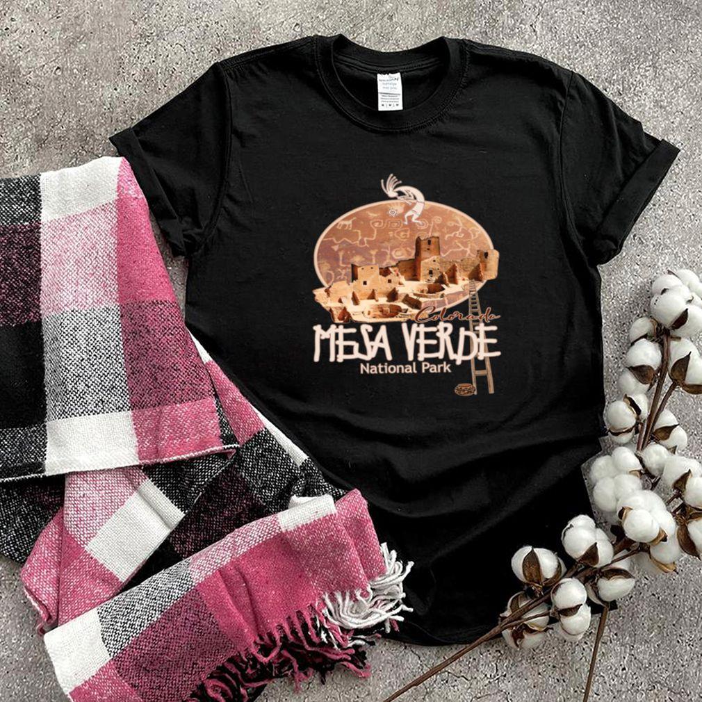 Mesa Verde National Park Colorado Ancient Cliff Dwellings shirt