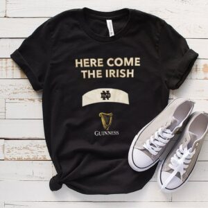 University of Notre Dame Guinness Here Come The Irish Shirt
