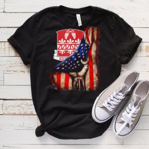 926th Engineer Battalion American Flag shirt