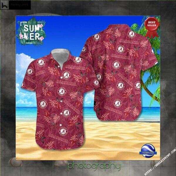 Alabama Crimson Tide NCAA Hawaiian Shirt