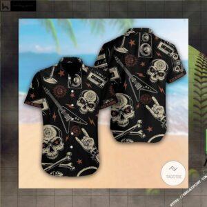 Alien Face Hugger Hawaiian Shirt (3)