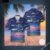 Allegiant Air Airbus A319-111 Hawaiian Shirt, Beach Shorts