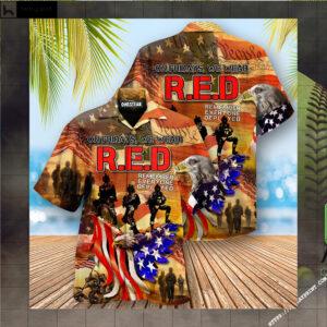 America My Patriotic Heart Beats Edition - Hawaiian Shirt