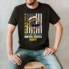 American Flag Veteran Of The United States Navy T shirt