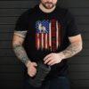 Best Buckin' Papi Ever American USA Flag Deer Hunting shirt