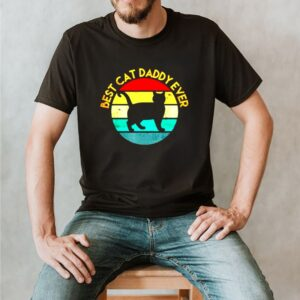 Best cat daddy ever vintage shirt