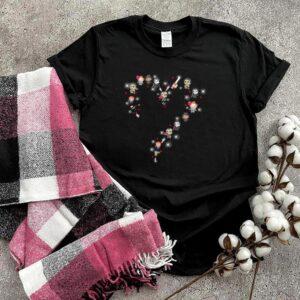 Charater chibi love halloween shirt