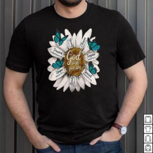 Daisy God Says You Are Strong Chosen Forgiven Special Unique shirt
