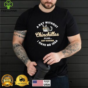 Ein Tag ohne Chinchilla Sachen Chinchilla shirt