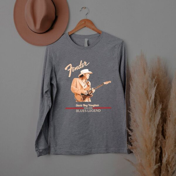 Fender stevie ray vaughan blues legend shirt