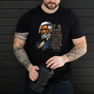 Frederick Douglass Quote Tee for Black History Month T Shirt