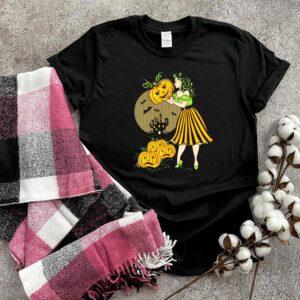 Goth Halloween Pinup Princess Black shirt