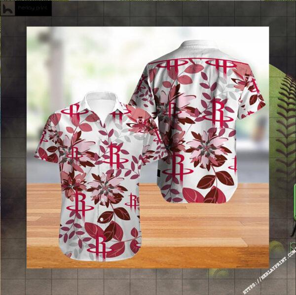 Houston Rockets NBA Hawaiian Shirt