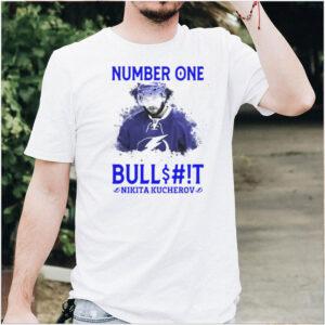 Number One Bullshit Stanley Cup Champions Nikita Kucherov T shirt