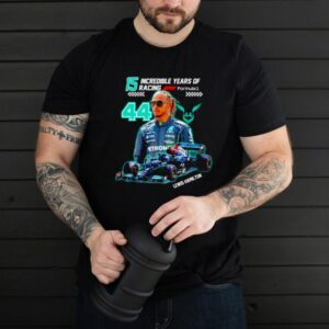 15 incredible years of racing Lewis Hamilton shirt