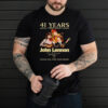 41 years John Lennon 1980 2021 thank you for your music shirt