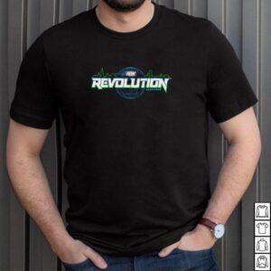 AEW Revolution Logo shirt