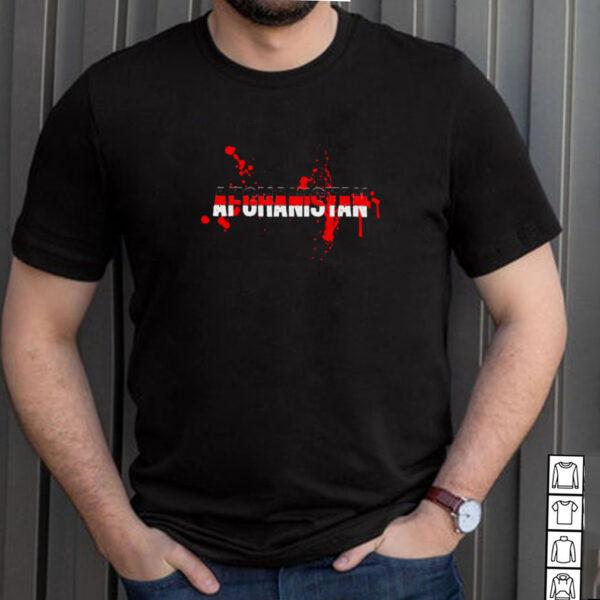 Afghanistan Flag Free Afghanistan Save Kabul Gift Shirt