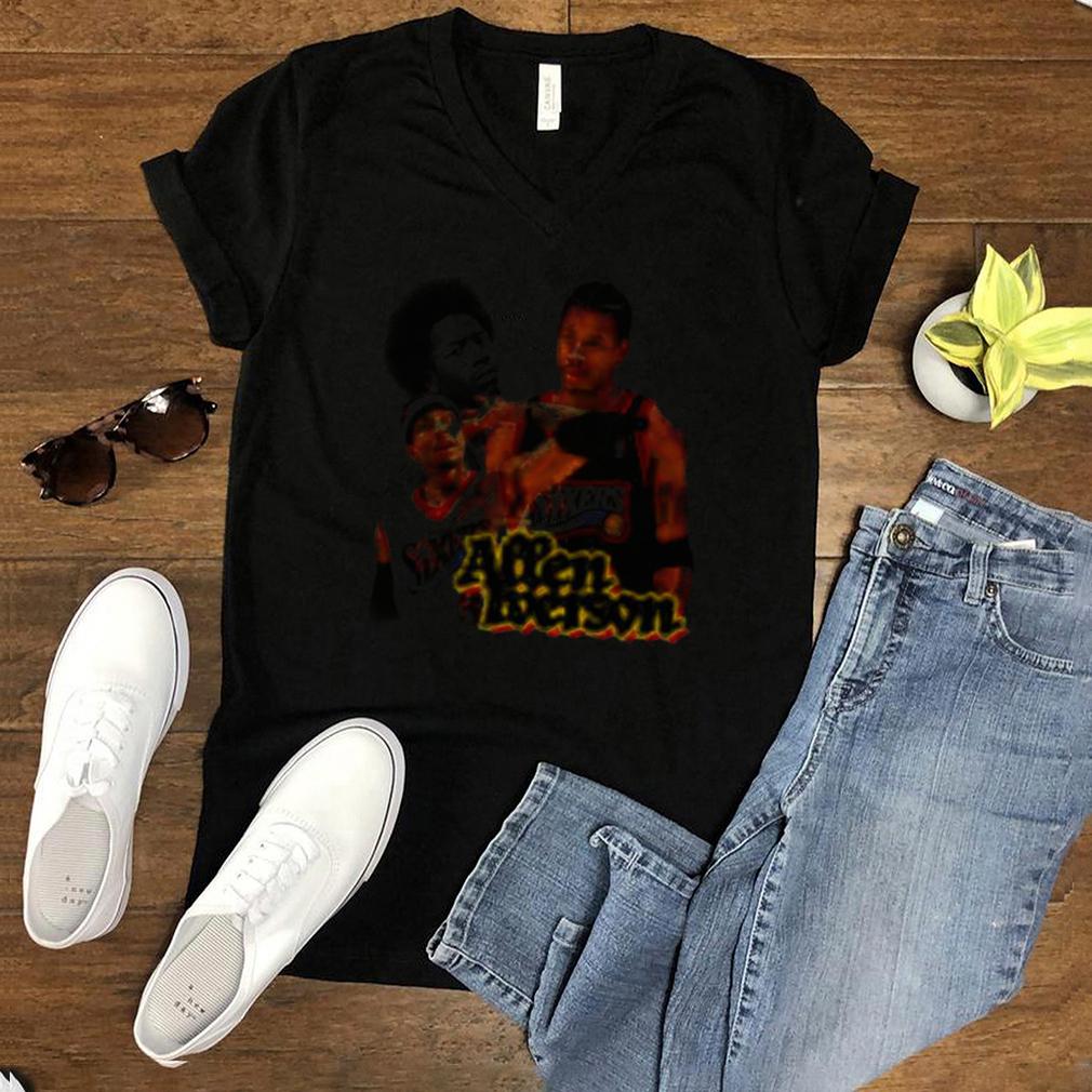 Allen Iverson Sixers Shirt