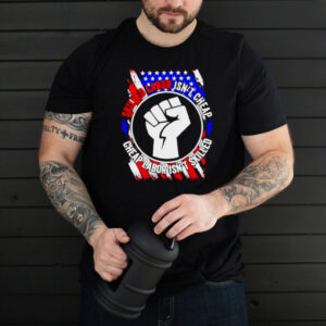 American flag skilled labor isnt cheap cheap labor isnt skilled shirt