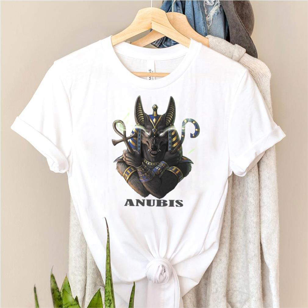 Ancient Egyptian God Of Death Anubis Family Bday Xmas T shirt