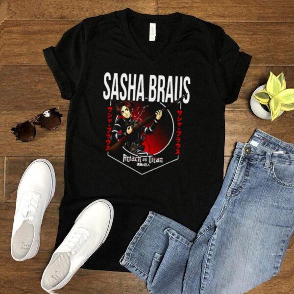 Attack On Titan Season 4 Sasha Braus Circle T shirt