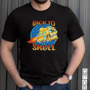 Back To School Skull Bus Shirt