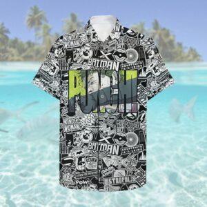 Batman Metropolis Punch Hawaiian Shirt Summer Hawaiian Shirt