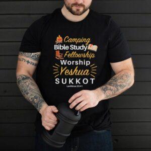 Camping Bible Study Fellowship Worship Yeshua Sukkot shirt