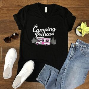 Camping Designs For Girls Camper Lady Hikers shirt