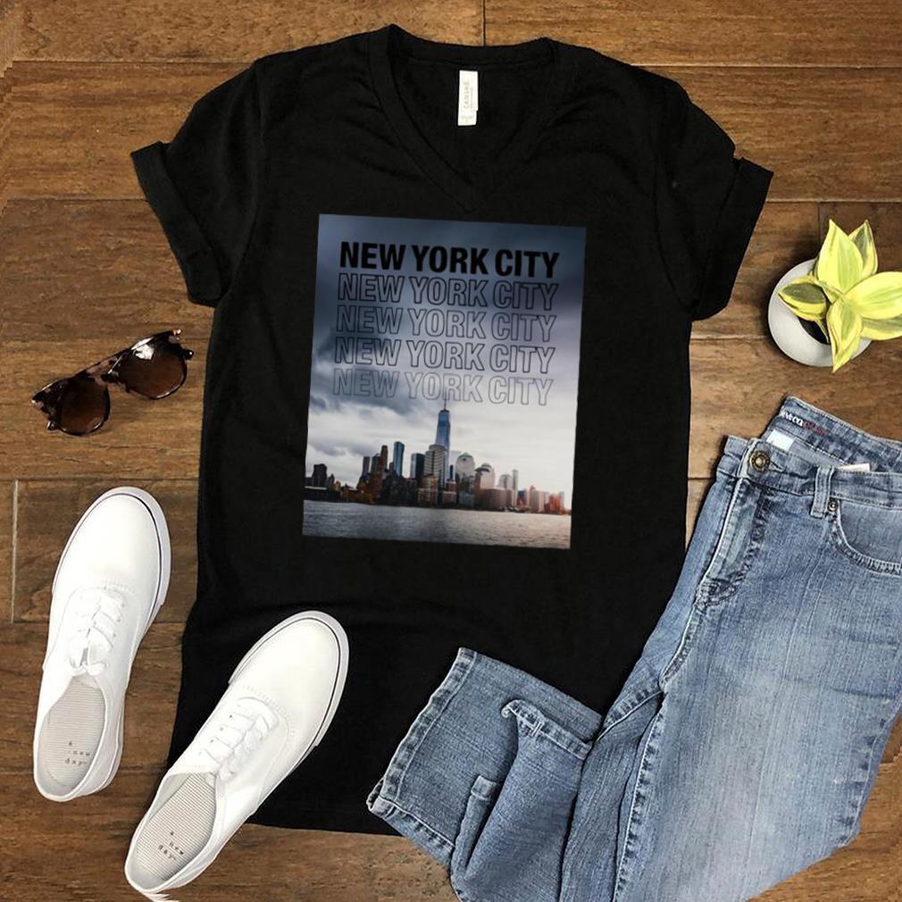 Cool Urban New York City New York City Skyline T shirt
