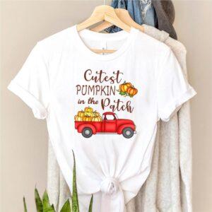 Cutest Pumpkin in The Patch Shirt Fall Halloween shirt