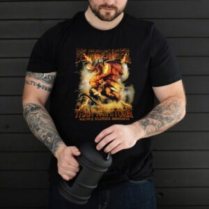 Dragon be stronger than the storm multiple sclerosis awareness shirt