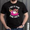 I Do It For The Hos Summer Santa Christmas In July T shirt