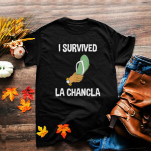 I Survived La Chancla Mexican Flip Flop Hispanic Spanish T Shirt