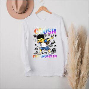 Im Ready To Crush Kindergarten Afro Boys School T Shirt