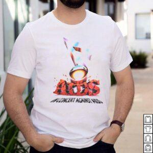 In Concert Against Aids Huey Lewis Grateful Dead Oakland Rock T shirt
