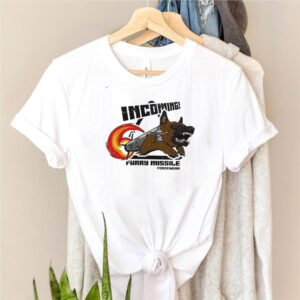 Incoming furry missile force wear shirt