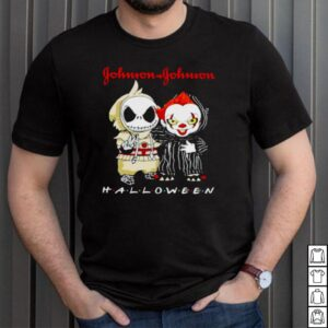 Jack Skellington and Pennywise Johnson Johnson Halloween shirt
