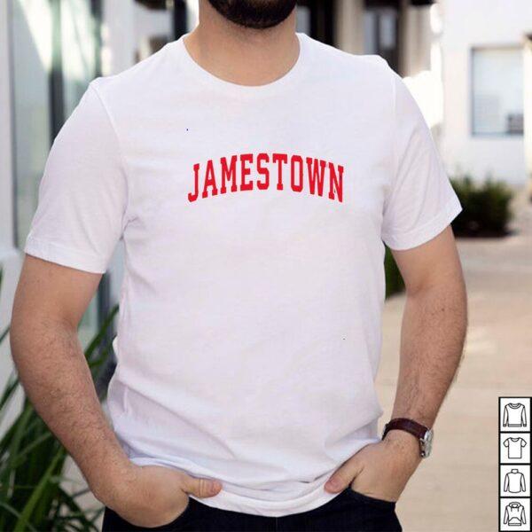 Jamestown New York NY Vintage Sports Design Red Design shirt