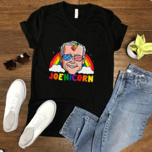 Joe Biden 2024 Unicorn Joenicorn Funny President Usa Rainbow T shirt